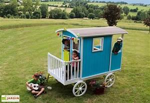 Maison Enfant Castorama : maison roulotte bois pour enfant carry soulet ~ Premium-room.com Idées de Décoration