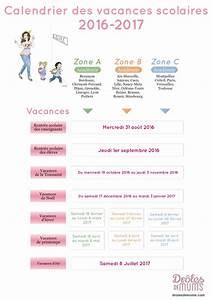 Dates De Vacances Scolaires 2016 : le calendrier des vacances scolaires 2016 2017 dr les de mums ~ Melissatoandfro.com Idées de Décoration