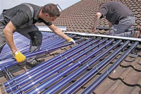 Solaranlage Roehren Oder Flachkollektor by Solarthermie R 246 Hrenkollektor 3
