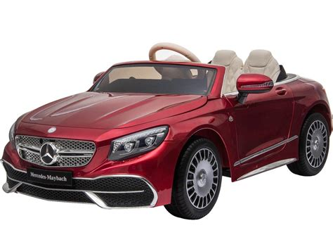 The site owner hides the web page description. Licensed Mercedes Benz Maybach S 650 Cabriolet 12V Ride On Car - Red