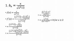 Series   Sqrt N 3 3   Calc Ii  Alternating