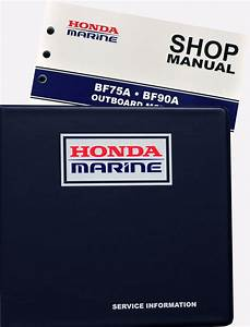 Bf75a Bf90a Model Marine Outboard Motor Shop Manual