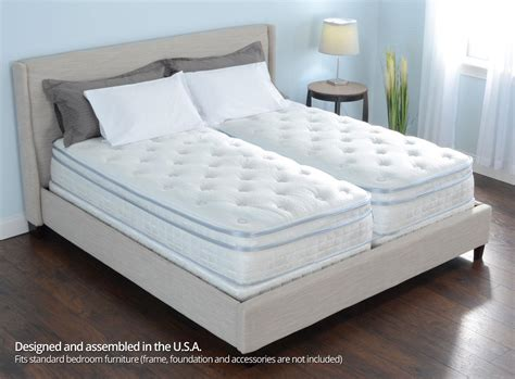 personal comfort bed 12 quot personal comfort sle bed vs number bed ile split cal