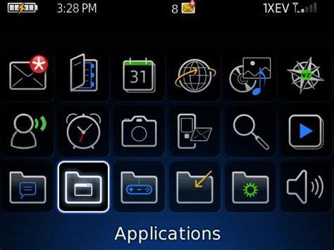 setting up your blackberry tour 9630 homescreen basics crackberry