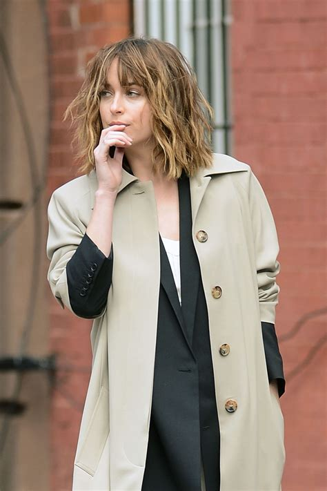 dakota johnson photoshoot   york city october