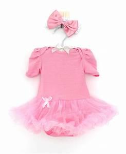 2pcs Infant Baby Girl Bowknot Headband+Romper Tutu Dress ...