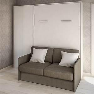 canape lit escamotable holdem pour lit double arredaclick With tapis berbere avec canapé lit matelas 20 cm