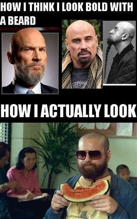 Funny Beard Memes - 19 best images about bald men fashion on pinterest mother nature best style and yul brynner