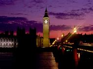 London England Big Ben at Night