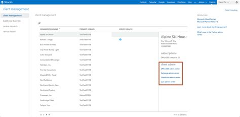 Office 365 Portal Trial by Introducing The New Office 365 Partner Admin Center