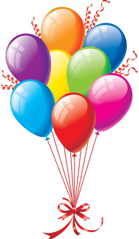 Balloons Clipart Birthday Balloons Png Clipart Best