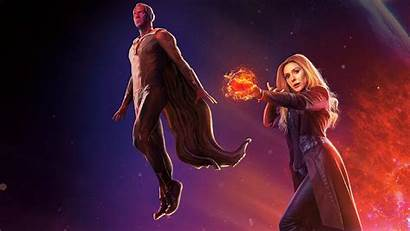 Scarlet Witch Wallpapers Vision Avengers Infinity War