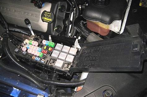 Ford Mustang Fuse Box