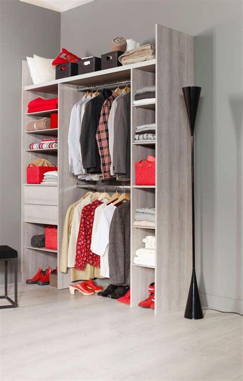 idee dressing chambre aménagement prêt à poser modèle dubaï http lapeyre