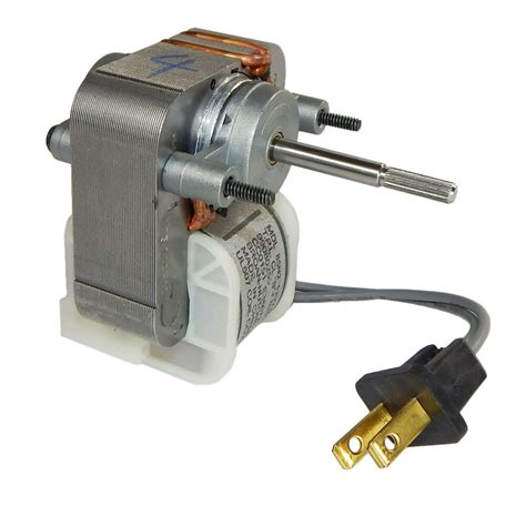 Replacement Electric Motors by Broan 671 Replacement Bath Fan Motor 1 5 S 1500 Rpm