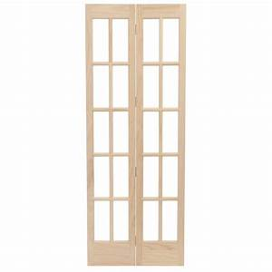 pinecroft 36 in x 80 in classic french glass wood With 36 x 80 french door