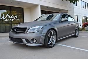 Mercedes C63 Charcoal Matte Metallic Color Change | Car ...