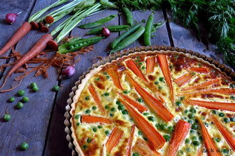 comment cuisiner le blé tarte aux carottes et petits pois nouveaux
