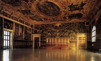 Venice Palazzo Ducale Italy Interior Renaissance