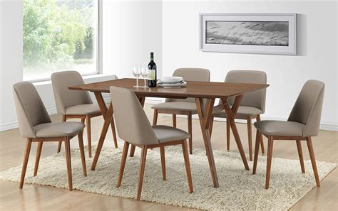 white mid century dining dining room mid century round dining table with mid