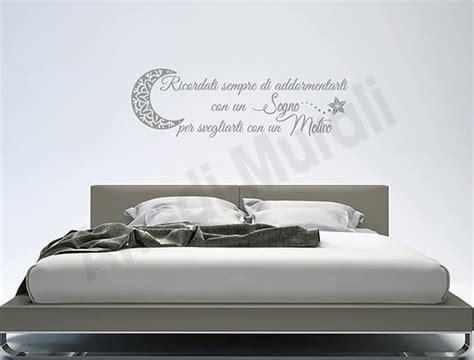 adesivi per da letto adesivi da parete frase da letto arredi murali