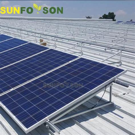 aluminum flat roof solar panels mounting kits  solar