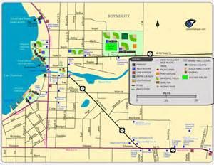 Boyne City Michigan Map