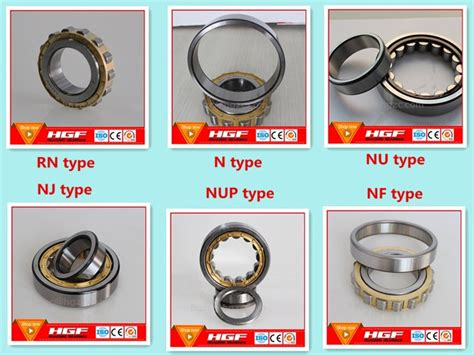 Manufactured Full Serise Cylindrical Roller Bearing N2360