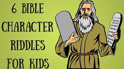Riddles Bible Character