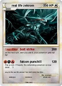 Pokémon real life zekrom - bolt strike - My Pokemon Card