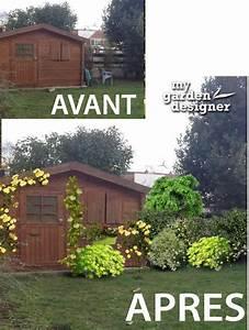 Cacher Vis A Vis Jardin : cacher une cabane de jardin monjardin ~ Dailycaller-alerts.com Idées de Décoration