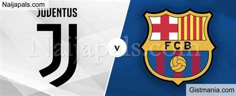 Juventus v Barcelona : UEFA Champions League Match, Team ...