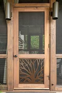 Branches, Single, Screen, Door