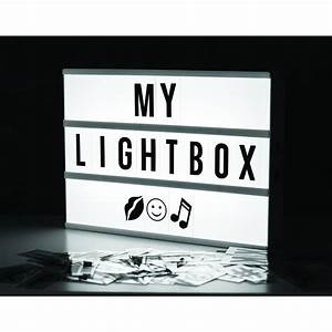 locomocean a4 cinema light up letter box cinematic led With light up letter box