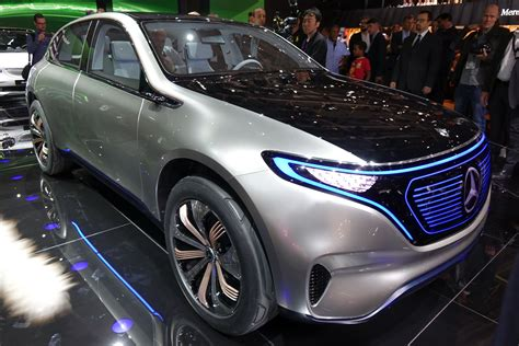 Mercedes Previews New Electric Car Lineup With Generation