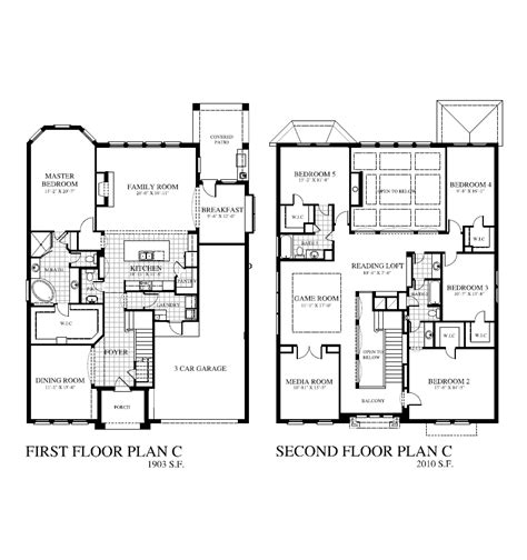 floor plans houston tx plan 3910 saratoga homes houston