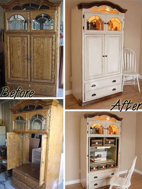 Upcycled Tv Armoire by Thrifting Upcycled Entertainment Centers And Armoires