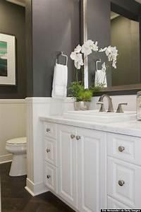 Brilliant, Elegant, White, Bathroom, Vanity, Ideas, 55, Most