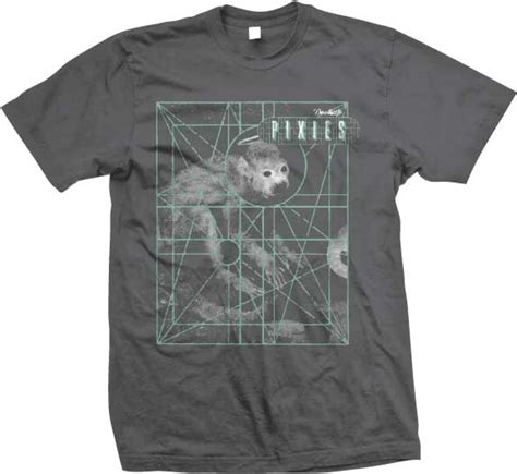 pixies monkey to heaven grid t shirt band tees