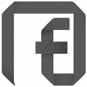 Channel, f, facebook, fan, fan page, follow, origami, page ...
