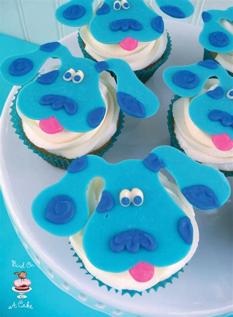 bird   cake blues clues cupcake toppers