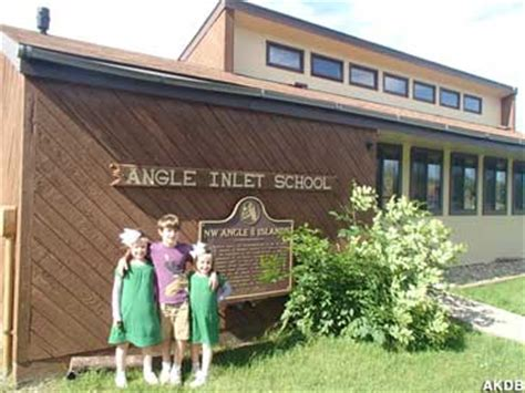 Angle Inlet, MN - Northernmost School in the Contiguous ...