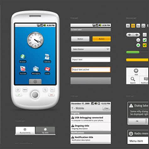 started  android app design