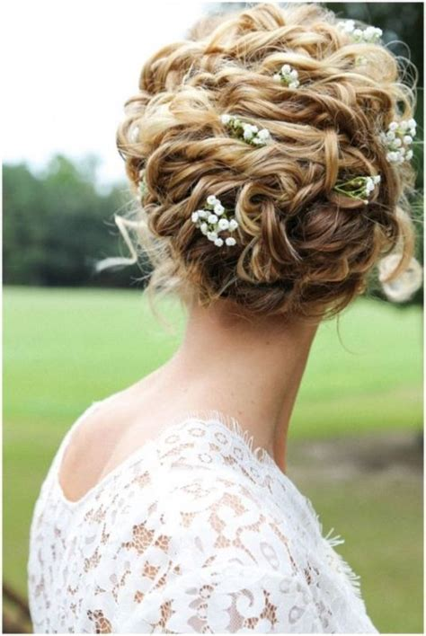 charming brides wedding hairstyles  naturally curly