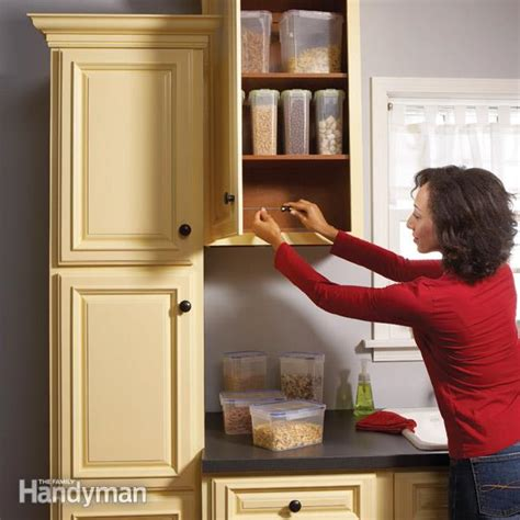 home repair   fix kitchen cabinets  family handyman
