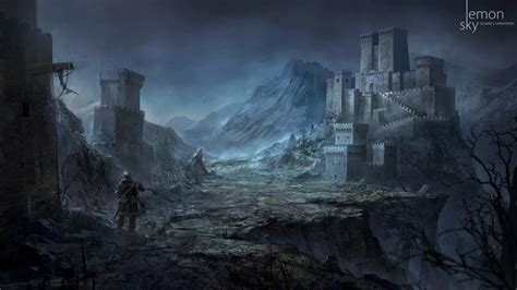 Angel And Demons Wallpaper Leaked Dark Souls 3 Dlc Concept Art Shows Enemies Environments Segmentnext