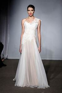 nice day for a pink wedding vera wang debuts colorful With today show wedding dresses