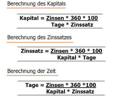 kredit berechnen formel zinsrechnung kredit formel