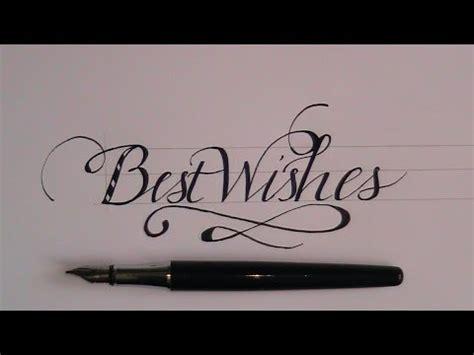 write  cursive fancy lettes  beginners