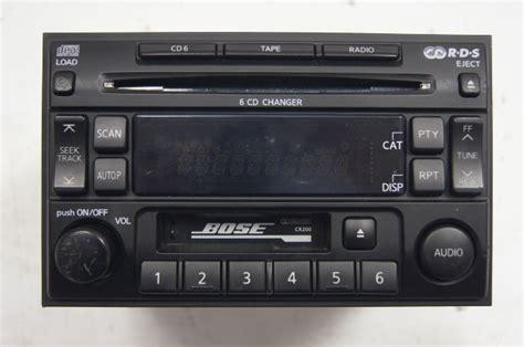 nissan pathfinder  disc cdtapeamfm radio